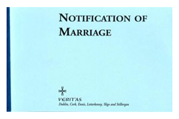 Notification of Marriage