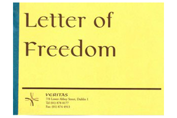 Letter of Freedom