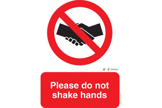 Do Not Shake Hands