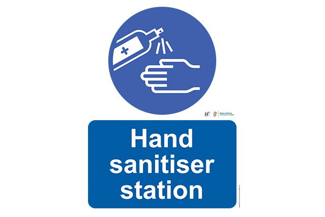 Sanitiser Station (A3)