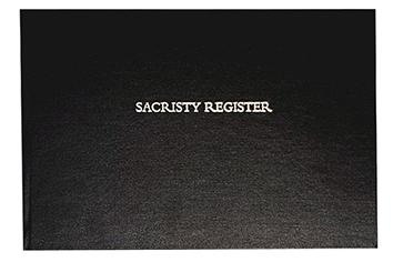 Sacristy Register